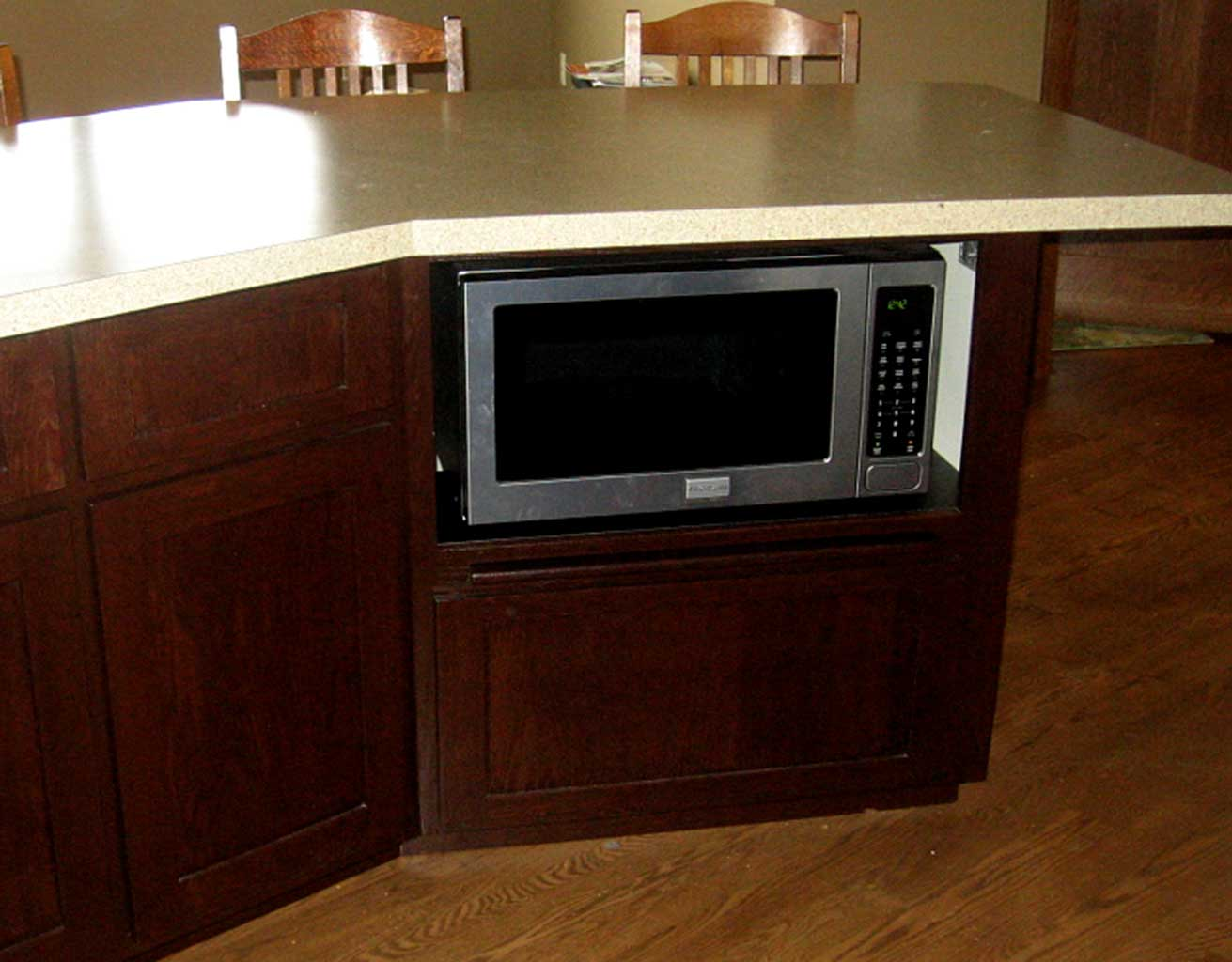 Microwave Base Cabinet · Leave A Comment